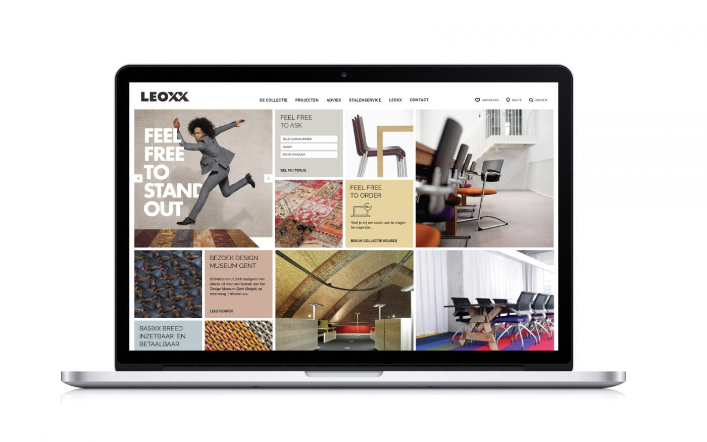 LEOXX Website Communicatiebureau Branding