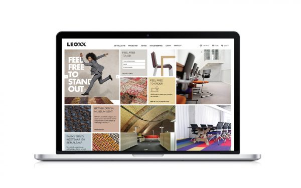 Leoxx Website Heldergroen Communicatiebureau Branding