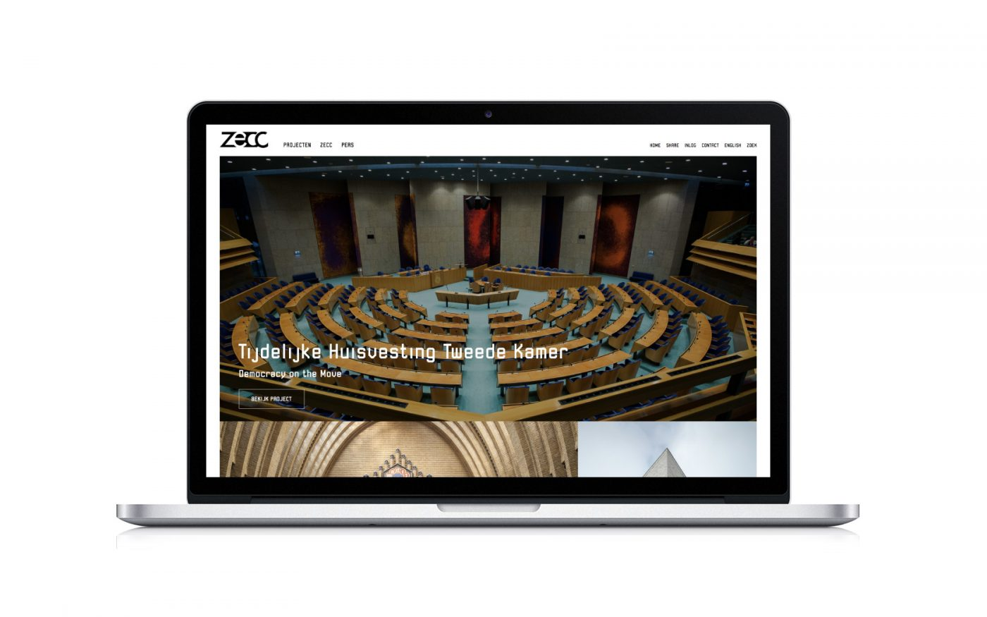 Zecc Website Heldergroen Strategie