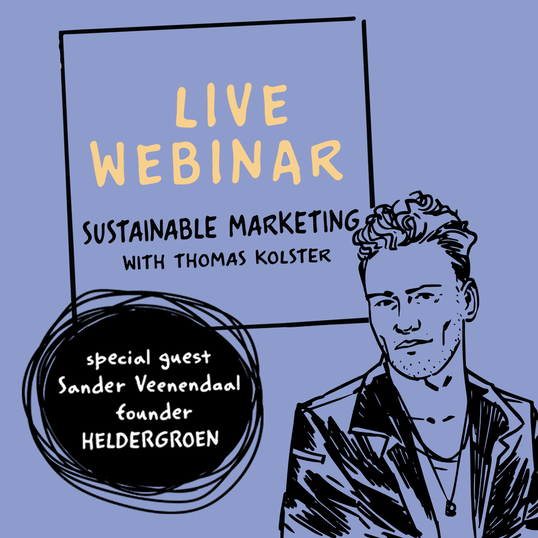 Webinar sustainable marketing - Thomas Kolster Sander Veenendaal